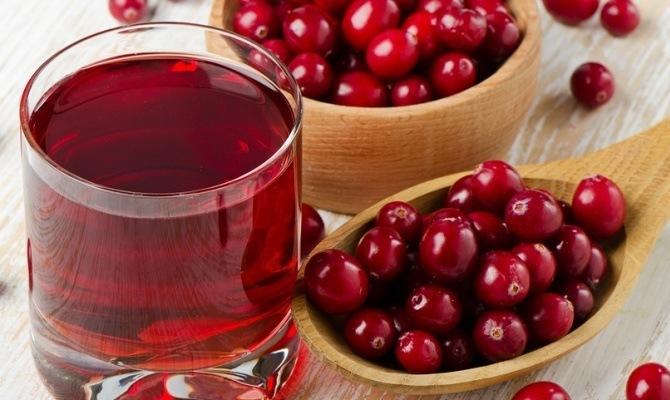 Как сделать сок из клюквы