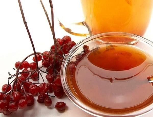 Калина красная с медом