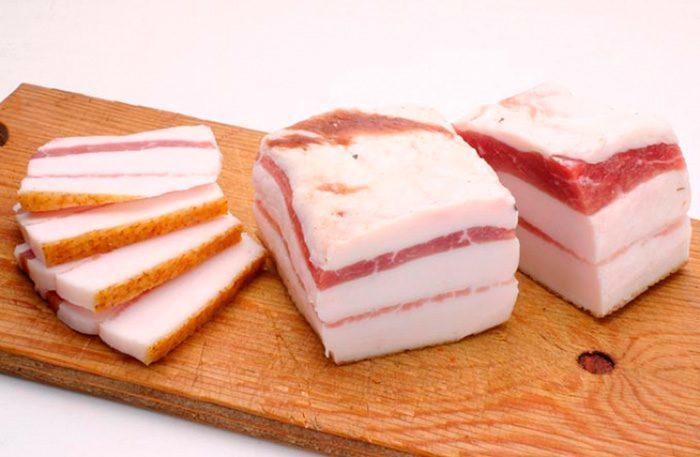 Состав и калорийность свиного сала