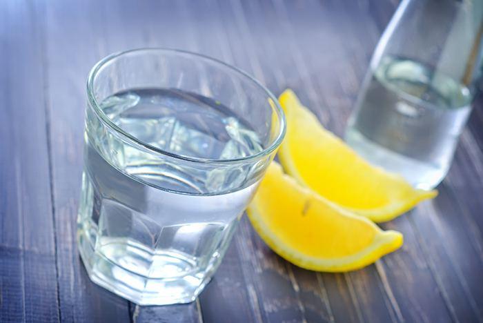 Вода с лимоном - польза