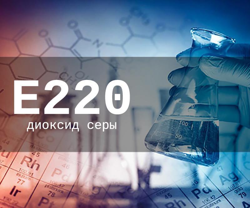 Пищевая добавка Е220 - опасна или нет