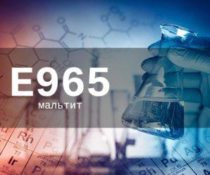 Пищевая добавка Е965 (мальтит) — опасна или нет