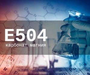 Опасна ли пищевая добавка Е504 (карбонат магния) для организма