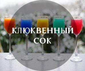 Польза клюквенного сока для организма и как его пить