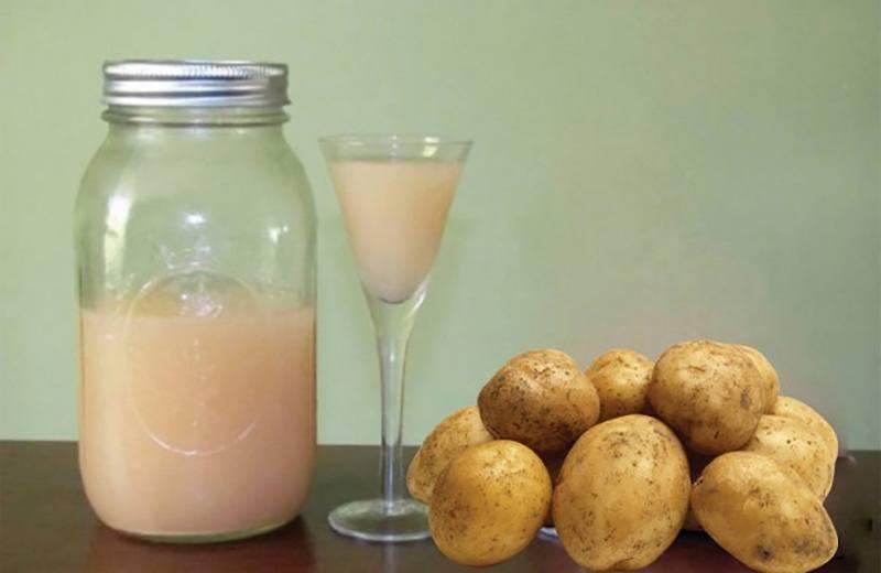 Польза картофельного сока для желудка