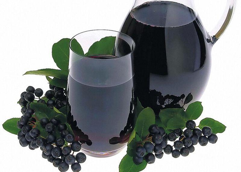 Как правильно употреблять сок из аронии