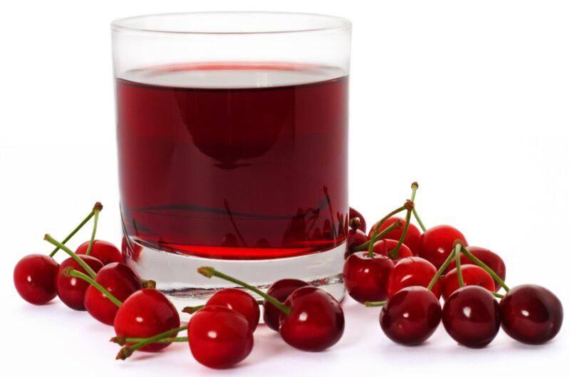 Как сделать сок из вишни дома