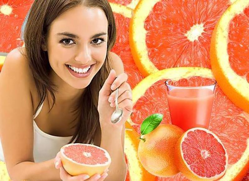 Полезные свойства грейпфрутового сока для женщин