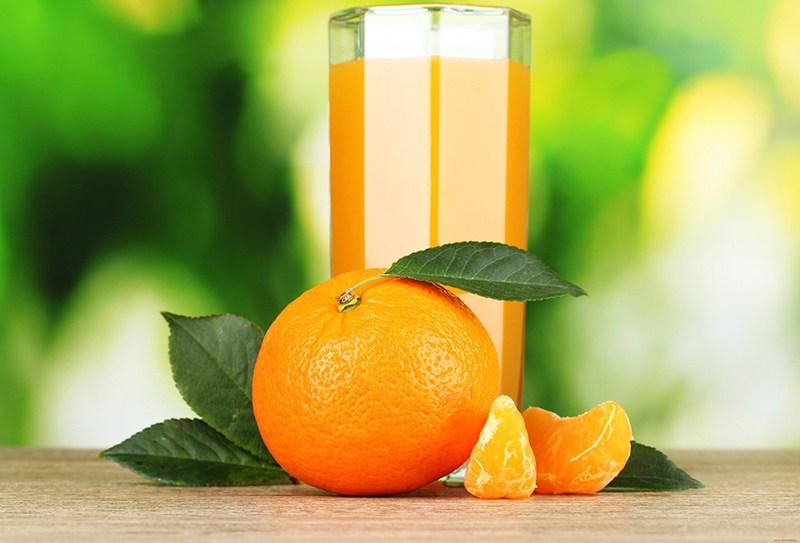Как правильно употреблять мандариновый сок