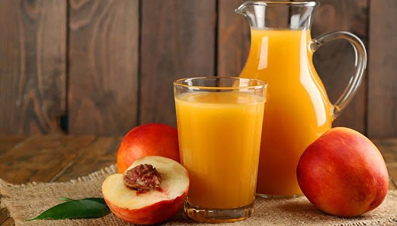 Что входит в состав персикового сока