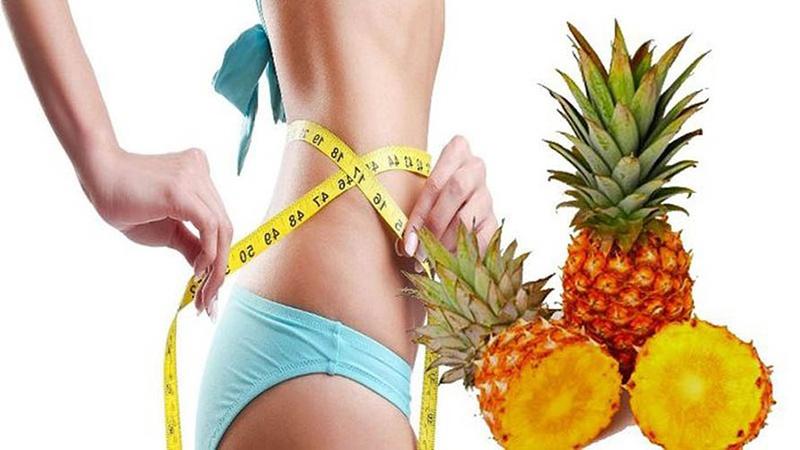 Как применять ананасовый сок при похудении