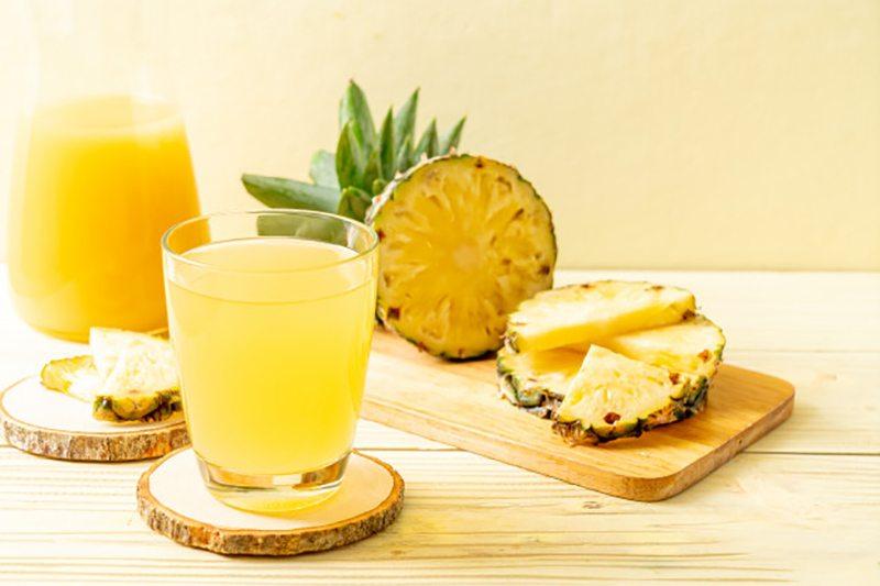 Польза ананасового сока прямого отжима для мужчин и женщин