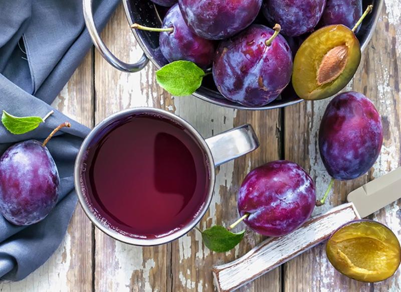 Как сделать сок из сливы в домашних условиях