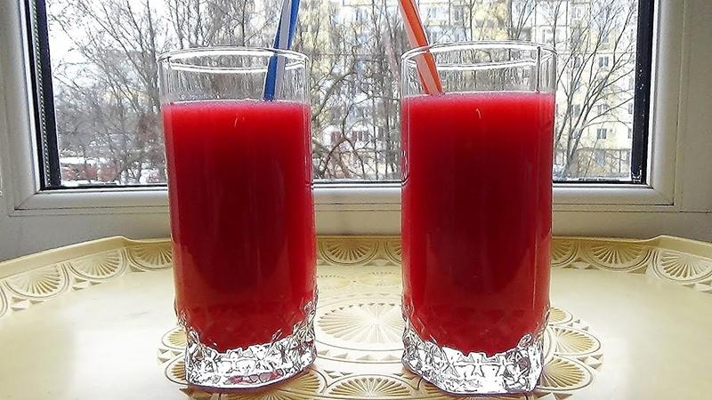 Как делать сок из малины в домашних условиях