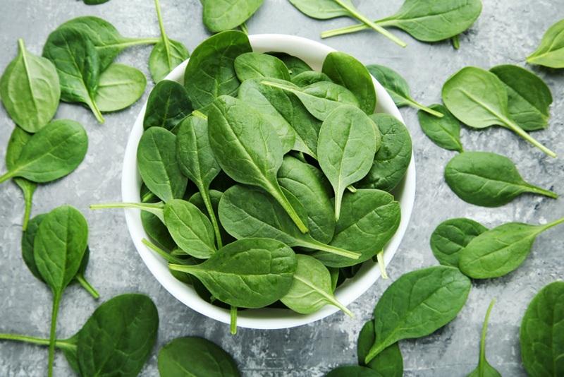 Полезные свойства свежевыжатого сока из шпината для организма